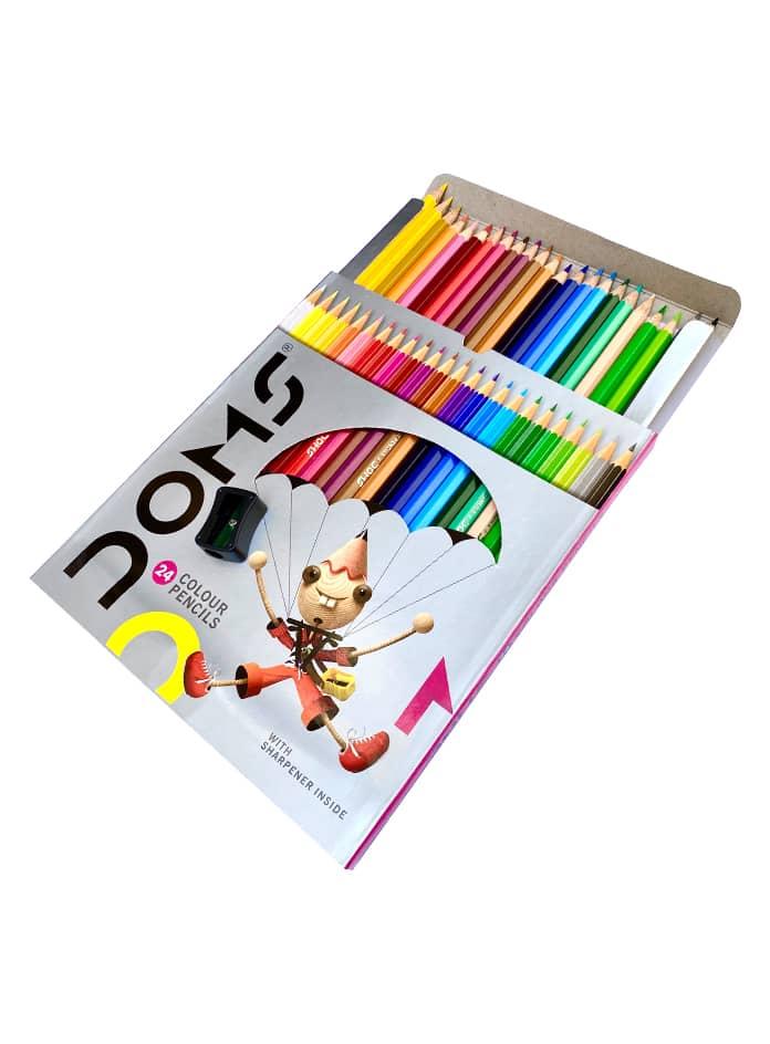 مداد رنگی 24 تایی دامز