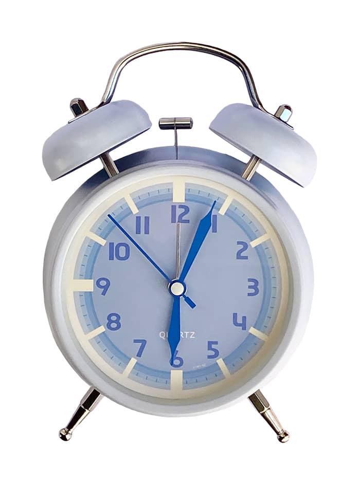 ساعت رومیزی کلاسیک کایاناس Kayannas با زنگوله آبی