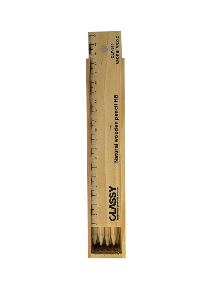 مداد مشکی 12 تایی HB کلسی