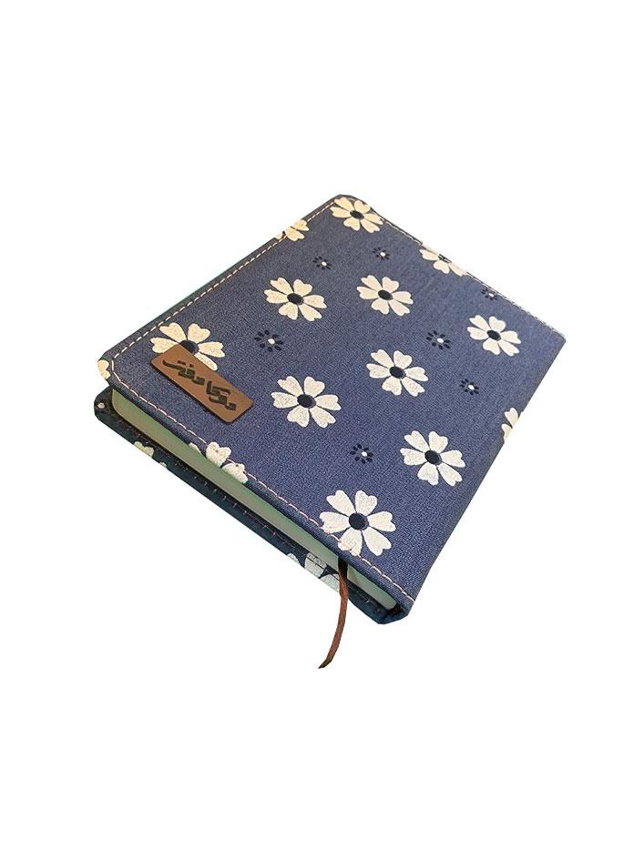 دفترچه یادداشت 140 برگ جلد پارچه ای دوکا طرح 7