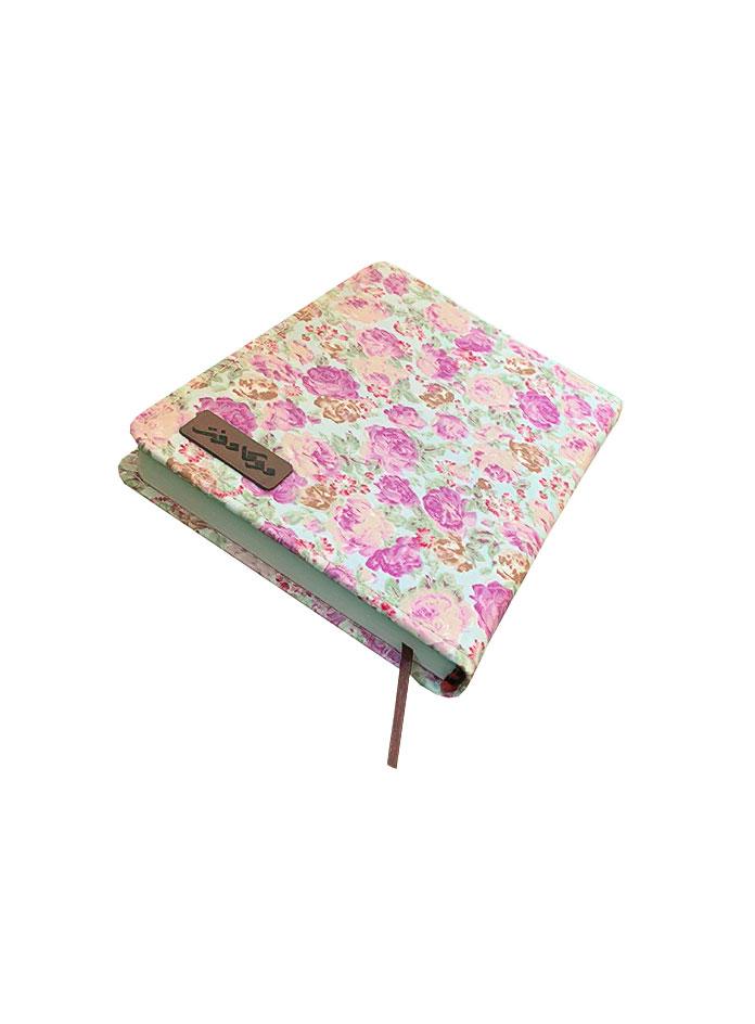 دفترچه یادداشت 140 برگ جلد پارچه ای دوکا طرح 2