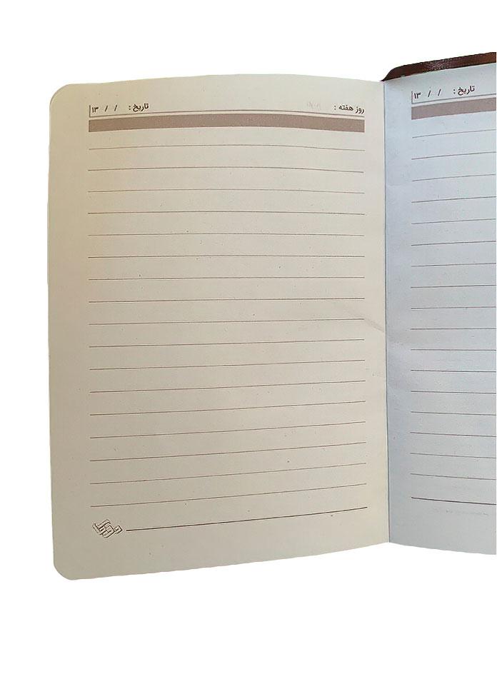 دفترچه یادداشت 140 برگ جلد پارچه ای دوکا طرح 1