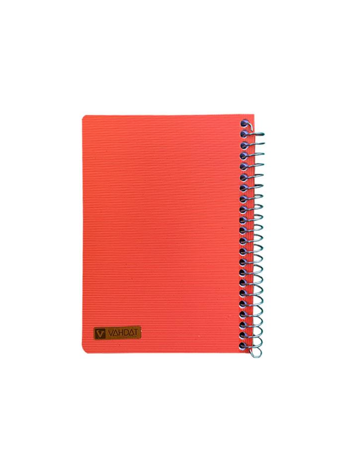 دفترچه یادداشت 80 برگ سایز 1/8 سیم از کنار وحدت