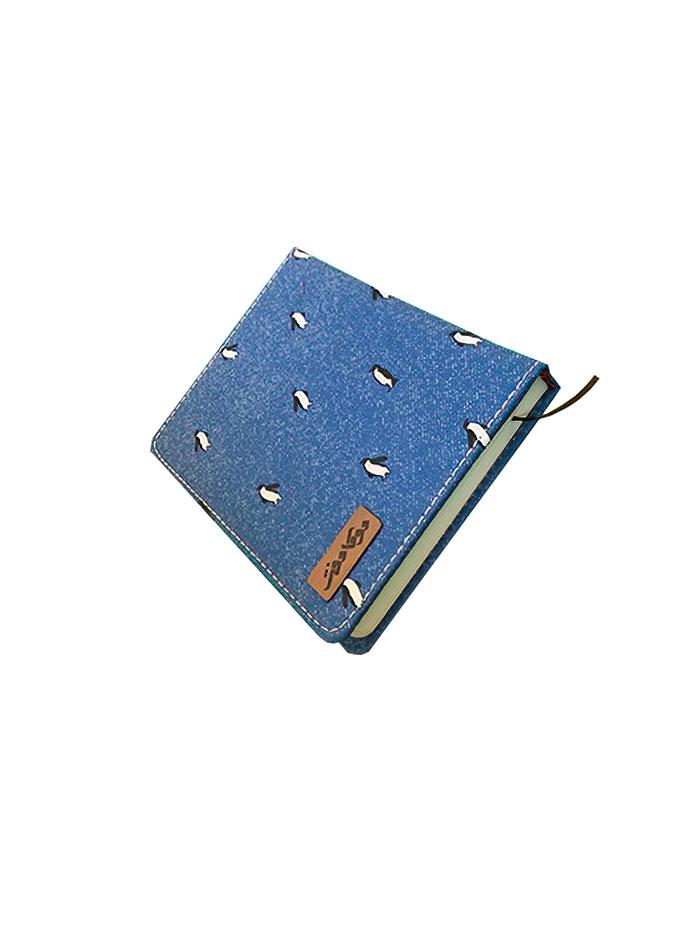 دفترچه یادداشت 140 برگ جلد پارچه ای دوکا طرح 10