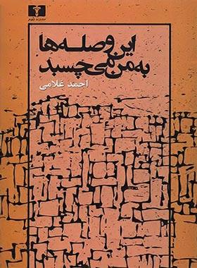 این وصله ها به من میچسبد - اثر احمد غلامی - انتشارات نیلوفر